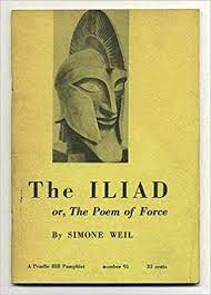 """Cover of """"The Iliad or, The Poem of Force"""""""